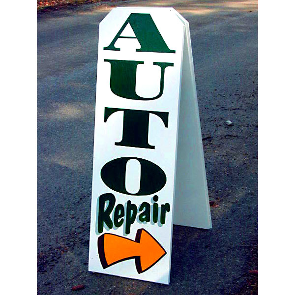 Graphic art - Auto repair signage