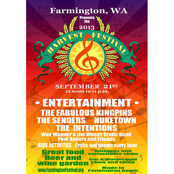 Graphic art - Farmington Festival poster